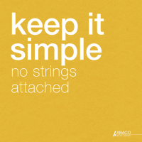 KEEP IT SIMPLE: NO STRINGS ATTACHED